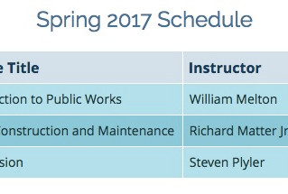 Spring 2017 Classes - Palomar College