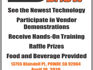 Statewide Poway Road Show - April 16, 2019