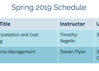 Spring 2019 Classes - Palomar College