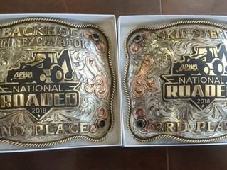 Maintenance Men Bring Home the Hardware from National Contest