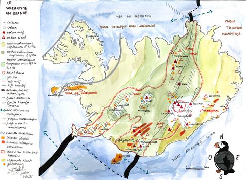 Le volcanisme en Islande