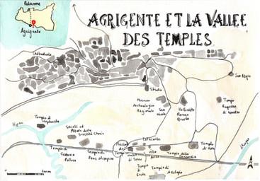 Agrigente, Sicile, Carnet de voyage
