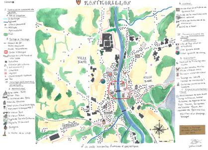 Montmorillon, Festival le Printemps des cartes