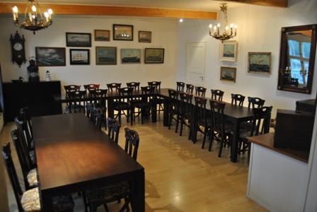 Övre våningens kabinett