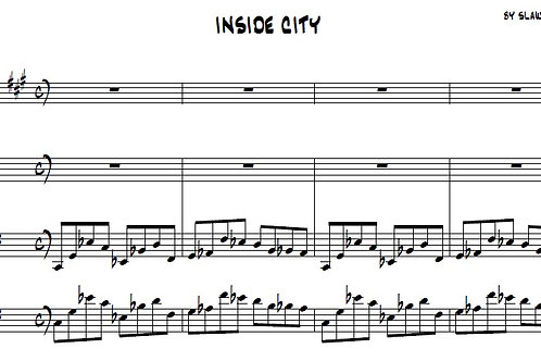 INSIDE CITY -  PIANO