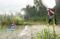Behind the scene - Fotoshooting