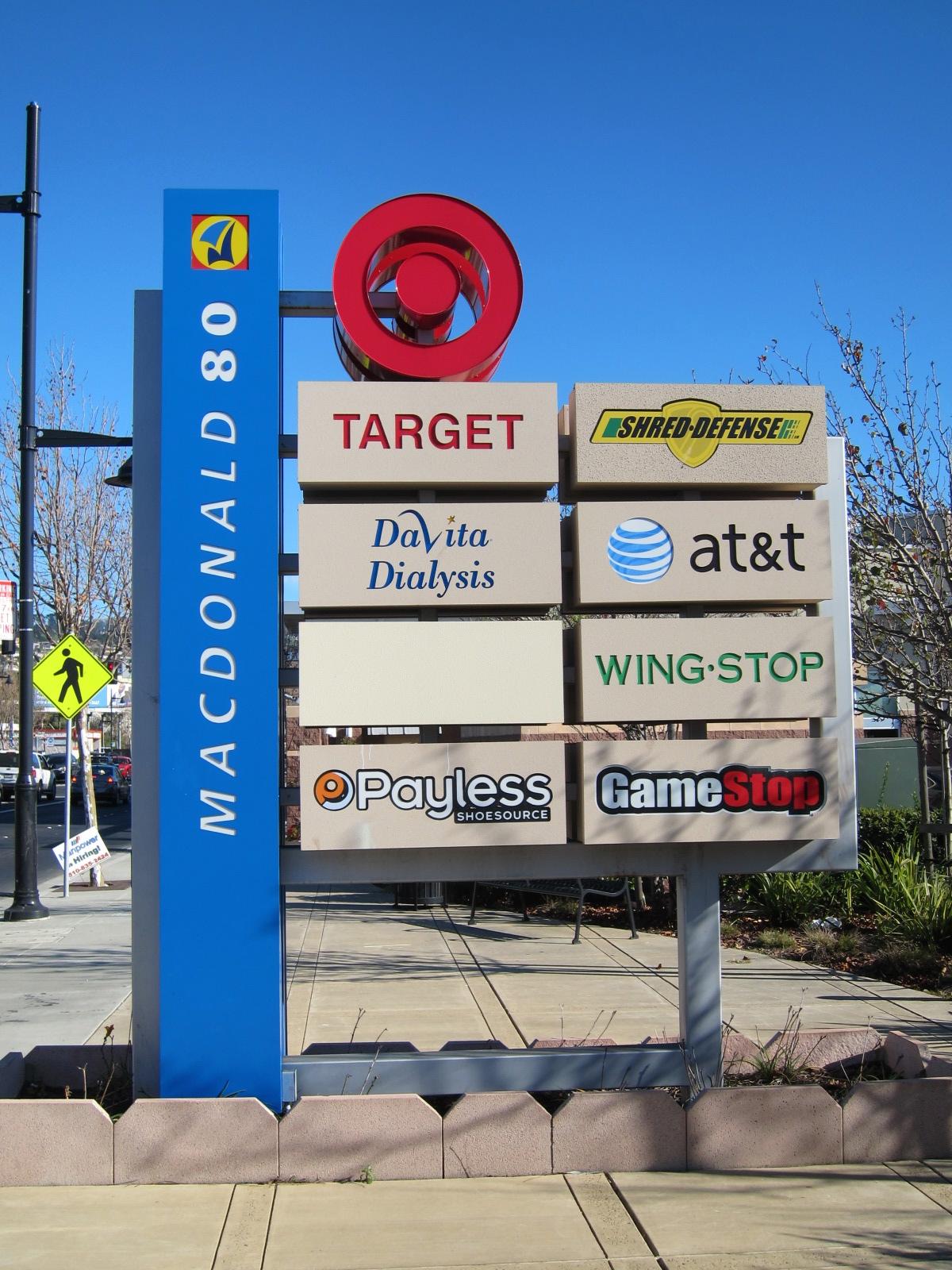 Macdonald 80 Monument Sign