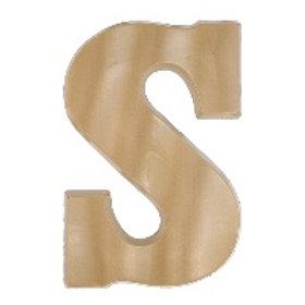 Letter S Salty Caramel