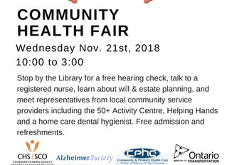 You're Invited: Community Health Fair