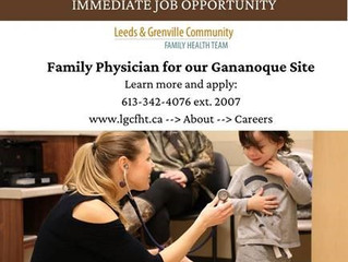 Currently Recruiting for a Family Physician!