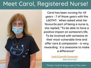 National Nursing Week - Meet Carol, RN!