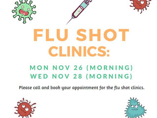 Flu Shot Clinics
