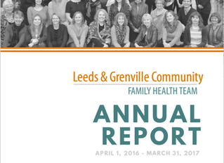 LGCFHT Annual Report & 2016-17 Statistics