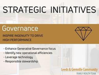 Governance - Strategic Initiative #3