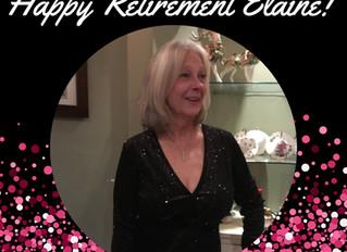 Happy Retirement Elaine!