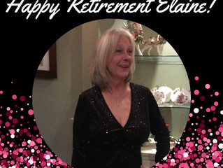 Happy Retirement Elaine!