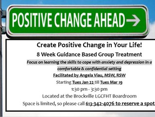 8 Weeks of Guidance Based Group Treatment!