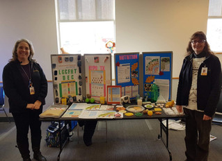 "The LGCFHT Participates in Brockville Public Library's ""Community Health Fair"""