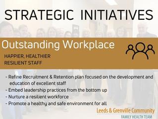 Outstanding Workplace - Strategic Initiative
