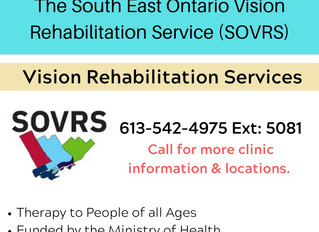 The South East Ontario Vision Rehabilitation Service (SOVRS).