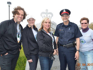 The LGCFHT Celebrates Earth Day by Participating in Brockville Community-Wide Clean-Up