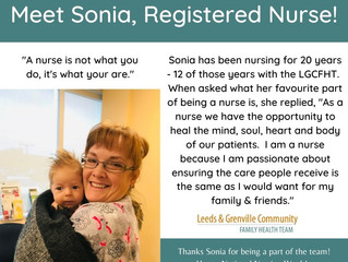 National Nursing Week - Meet Sonia, RN