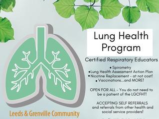LGCFHT's Lung Health Program: