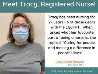 National Nursing Week - Meet Tracy, RN!