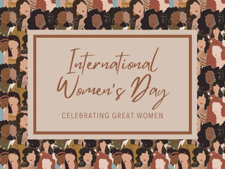 Today is International Women's Day!