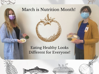 Nutrition Month!