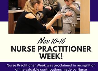 Nurse Practitioner Week!!