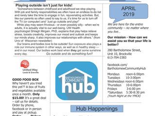 Bartholomew Street Community Hub & Calendar!