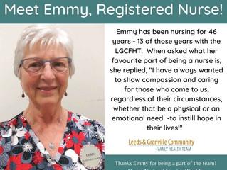 National Nursing Week - Meet Emmy, RN!