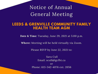 Notice of the Annual General Meeting: