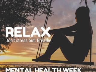 Today marks the beginning of Mental Health Week!