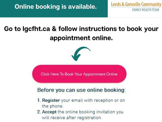 Online booking!  It is simple. See instructions below.