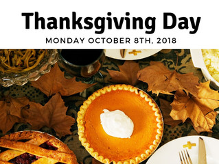 Both LGCFHT offices will be closed for the Thanksgiving Holiday!