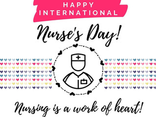 HAPPY INTERNATIONAL NURSE'S DAY!!