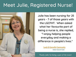 National Nursing Week - Spotlight on the Nurses!