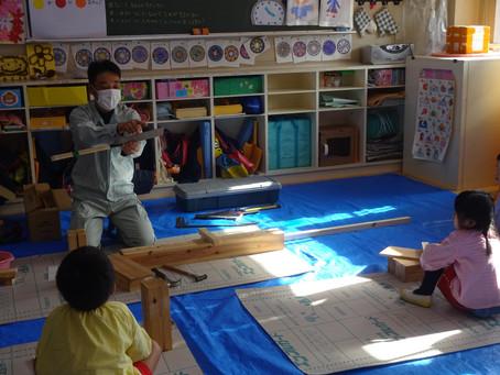 年長組 木工教室