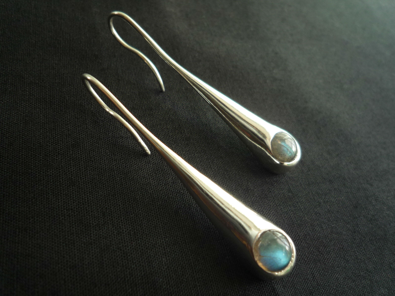 Drop (labradorite) Earrings