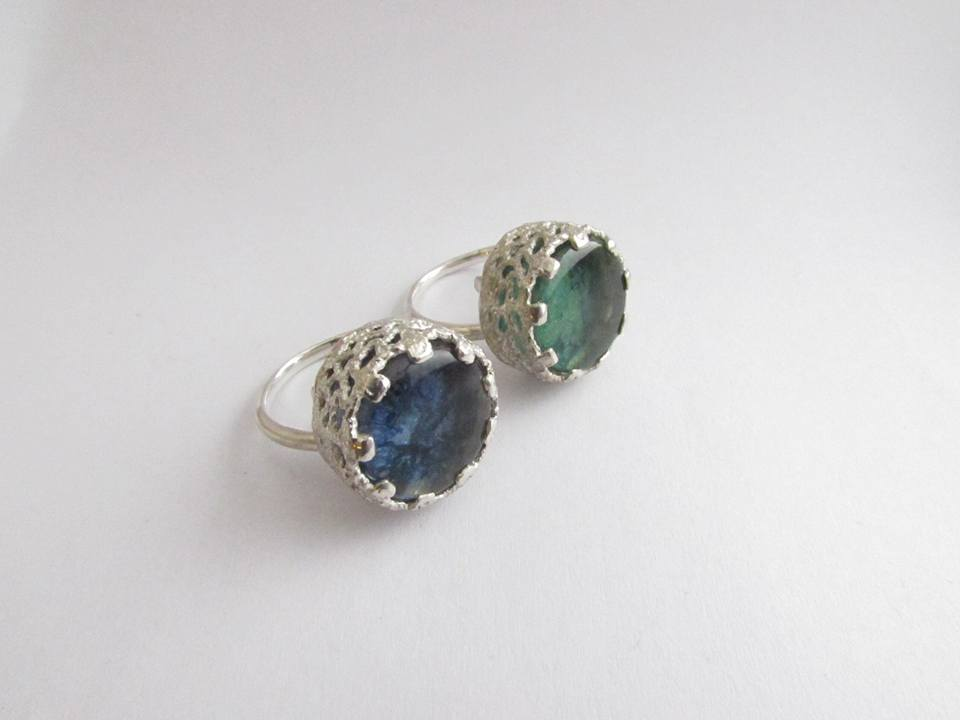 Spring Water Glass Set Ring