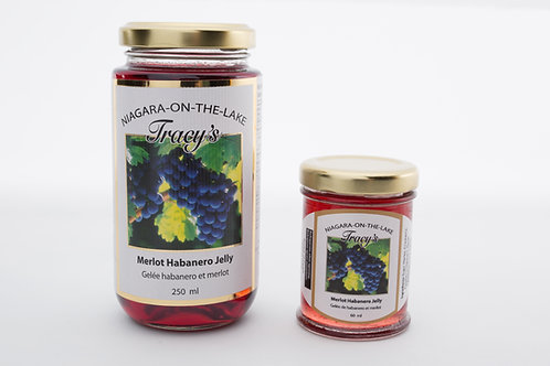 "Merlot Habanero Wine Jelly  ""Spicy Hot"" 250ml"