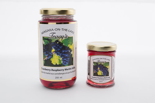 Cranberry-Raspberry Merlot Wine Jelly 250ml