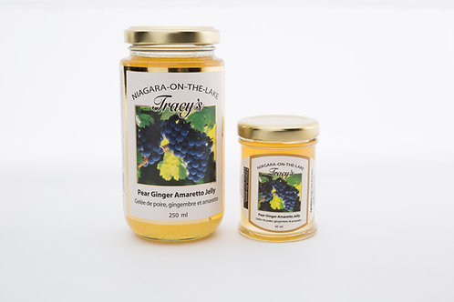 Pear Ginger Amaretto Wine Jelly 60ml