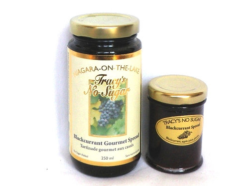 No-Sugar Added Blackcurrant Spread 60ml