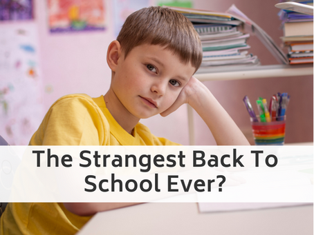 The Strangest Back To School Ever?