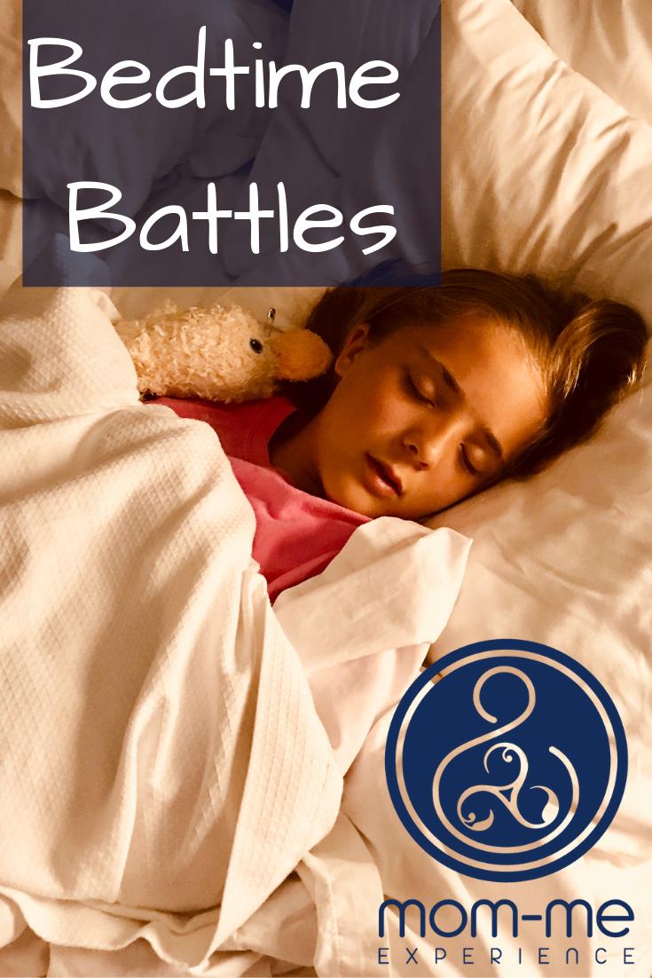 A bedtime ritual is your foot in the door.