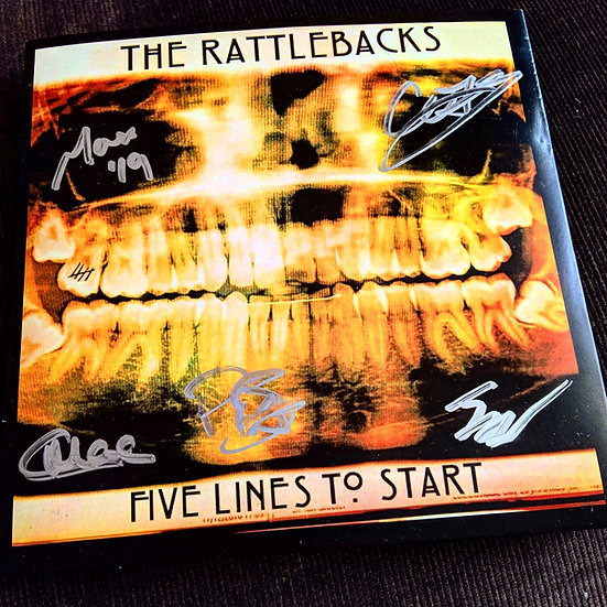 'Five Lines To Start' Signed EP