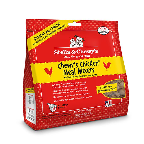Stella & Chewy's Freeze-Dried Meal Mixers - 9 oz.